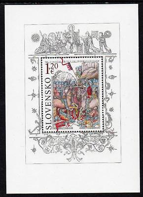 Slovakia MNH 2012 The 700th Anniversary of the Battle of Rozhanovce M/S