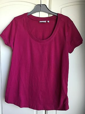 Next Pink Size 10 Maternity Top T Shirt Ladies Womans Womens