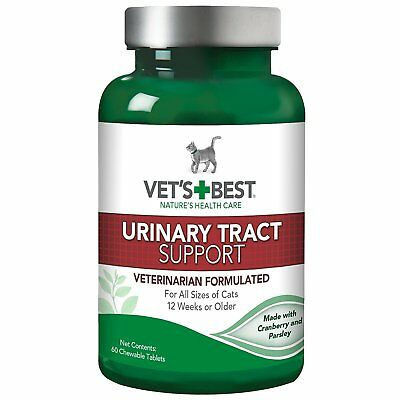 Vet's Best Cat Urinary Tract Support Aid 60 Chewable Tablets