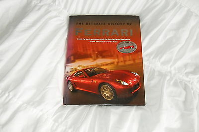 """""""The Ultimate History Of Ferrari"""" by Brian Laban-Visual Fact Files-2010"""