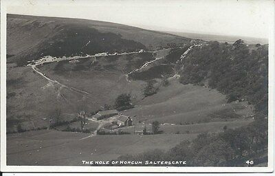 SALTERSGATE Postcard Hole of Horcum Early RP Yorkshire