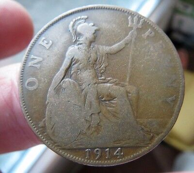 1914 One Penny George V th