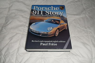 """""""Porsche 911 Story"""" by Paul Frere-Eighth Edition 2006"""