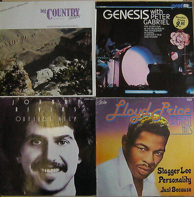 """Sammlung / lot 12""""  LP's & Maxis Rock Pop Country Soul  Songwriter Soundtracks"""