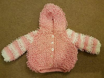 baby girl knitted cardigan 6-12m