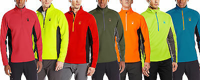 Spyder Mens Outbound Half Zip Sweater, Color Options