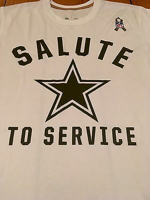 BNWT NFL Dallas Cowboys Nike Salute To Service T-shirt Jersey - Large