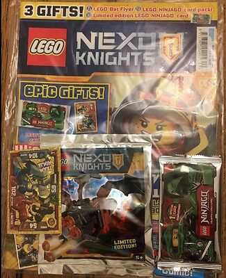 Lego NEXO KNIGHTS ISSUE 9 with free gifts