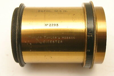 Taylor Hobson 12.5 inch Brass lens.