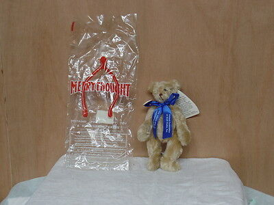 "Merrythought 1994 Purest Mohair with all Tags, Button and Bag 8"" Our Bear (NV33"