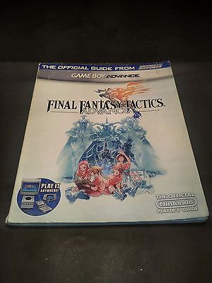 Final Fantasy Tactics Advance nintendo power official strategy guide