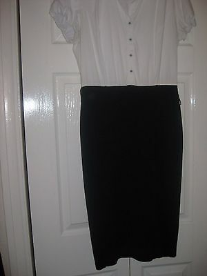 Ladies Size 12 M&s Dress
