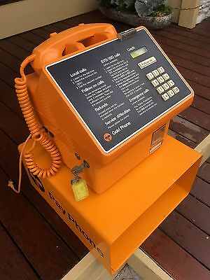 Gold TELSTRA Pay Phone