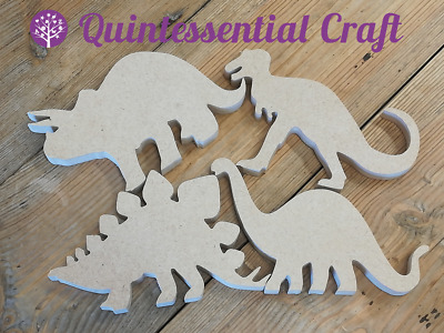 Wooden MDF Dinosaur 18mm thick freestanding 4 DESIGNS available