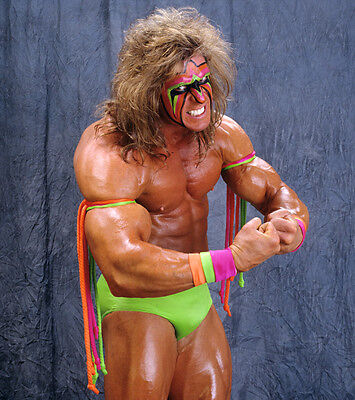 The Ultimate Warrior Photo 8x6 Hologram & Numbered Photograph Wrestling WCW WWF