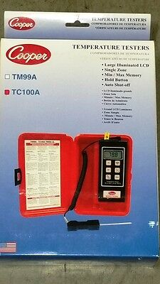 Digital Thermometer and Probe (TC-100A)