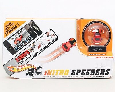 Hot Wheels RC iNitro Speeders 2.0 Red Ford Mustang GT w/ Controller NEW