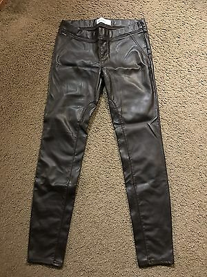 Abercrombie And Fitch Faux Leather Leggings