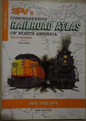SPV's COMPRHENSIVE RAILROAD ATLAS (FULLY INDEXED) – SOUTHEAST – 1999
