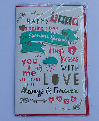 *NEW* *SEALED* Valentines Day Card -  Happy Valentines Day - by Premium Cards