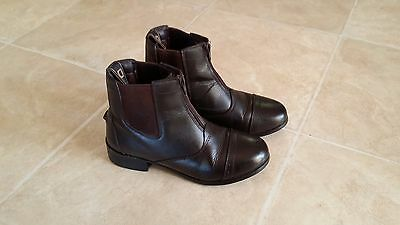 Dublin Zippered Horse Riding Boots - Ladies Size 5