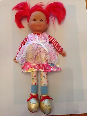 "Corolle Doll Toffee Apple Red Hair France Scented 16"" WITH TAG HTF"