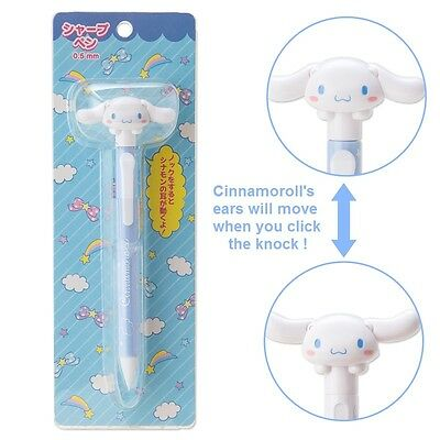 Sanrio Cinnamoroll Movable Ears 0.5mm Mechanical Pencil Free Registered Shipping