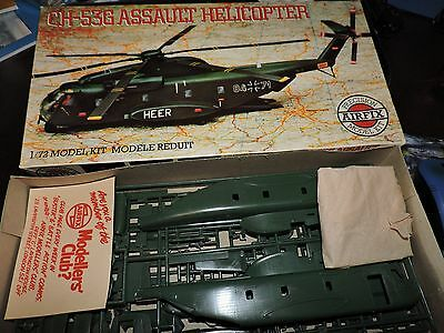 AIRFIX 1:72nd SCALE SIKORSKY CH-53G  HELICOPTER  # 06004-0 NO INSTRUCTIONS/DECAL