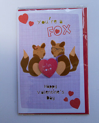 *NEW* *SEALED* Valentines Day Card - You're a Fox - by Card Couture