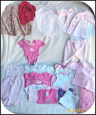 Girls Size 00000-000 Mixed Lot 20 Items