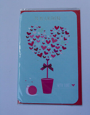 *NEW* *SEALED* Valentines Day Card - To  my girlfriend - by Card Couture