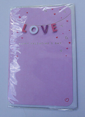 *NEW* *SEALED* Valentines Day Card - LOVE - by Card Couture