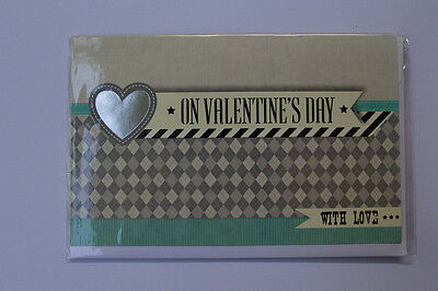 *NEW* *SEALED* Valentines Day Card - On Valentines Day with love - Card Couture