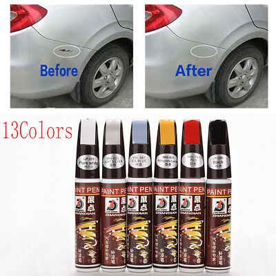 Car Smart Coat Painting Touch Up Pen Scratch Repair Painter Brush 13 Colors HOT