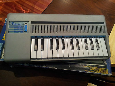 UNIQUE 5Portable BONTEMPI B1 25 Note Organ Battery Keyboard Made in Italy 1985