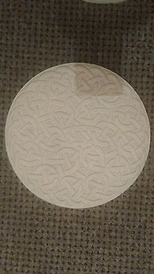 Latex Rubber Mould Mold Molds Of A Large Celtic Knot Style Stepping stone mould