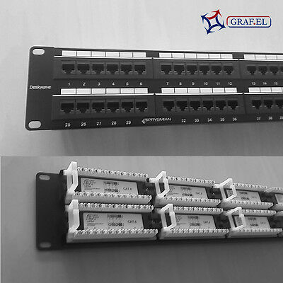 Patch Panel UTP Cat. 6 48 porte  - Prysmian