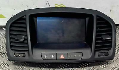 2010 Vauxhall Insignia 2009 To 2013 Multi Function Display Screen 20935346