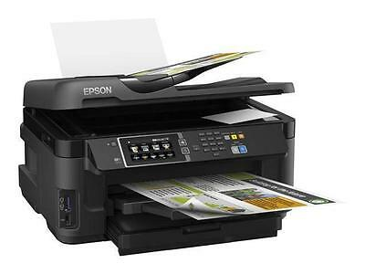 Epson Workforce WF-7610DWF Multifunction Printer - Colour A3 All-in-One Wireless