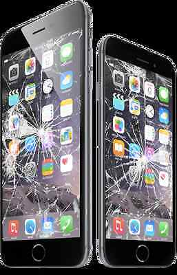 iPhone 6/6+ cracked screen + LCD replacement repair service