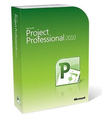 Microsoft Project Professional 2010 for 32/64-bit