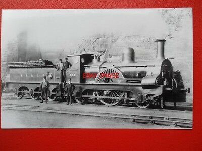 Photo  Ms&lr Class 12A Loco No 508 Manchester Sheffield And Lincolnshire Railway