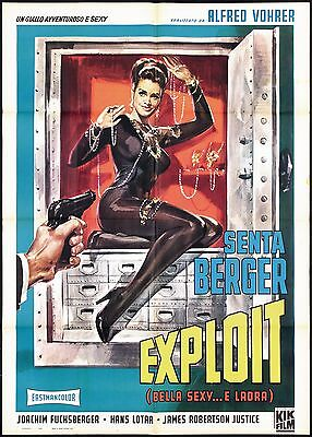 Exploit Bella Sexy E Ladra Manifesto Sexy Long Legs Long Fingers Movie Poster 2F