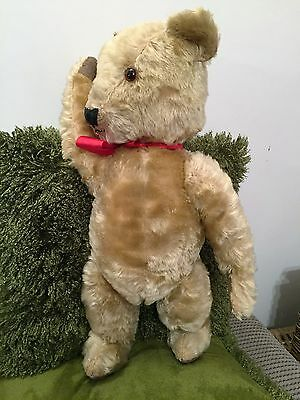 Teddy Thirsk -  old furry adorable Chiltern Bear TLC restoration mohair antique