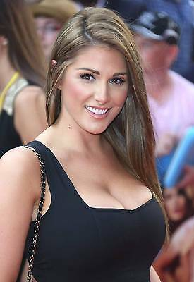 Lucy Pinder Photo 8x6 Hologram & Numbered Photograph Glossy Print Model Actress
