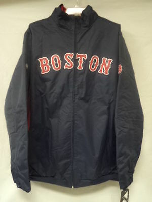 MLB Boston Red Sox Authentic Collection Zip Up Navy Jacket