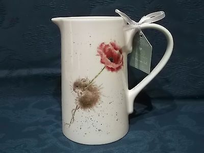 Royal Worcester Wrendale by Hannah Dale 2 Pint Jug - Mouse
