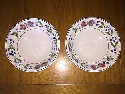 Adams Old Colonial Two Cereal Bowls