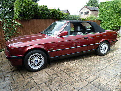 1993 (E30) BMW 320i convertible only 43,000 miles