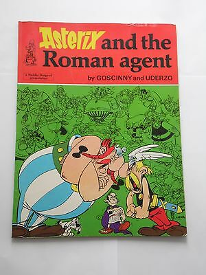Asterix And The Roman Agent By Goscinny / Uderzo Published By Hodder-Dargaud